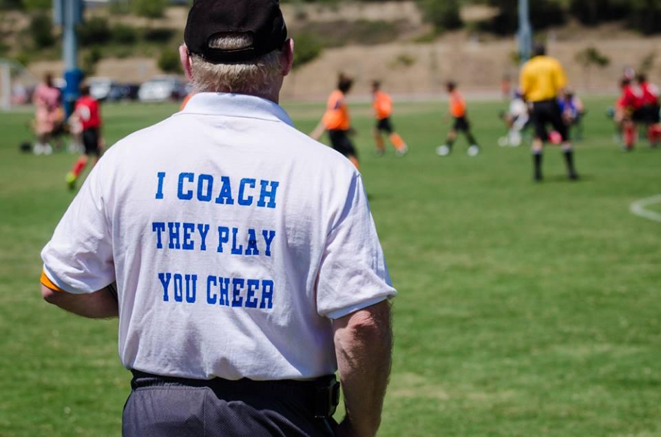 role of the coach, coaching roles, coaching you own child, sport