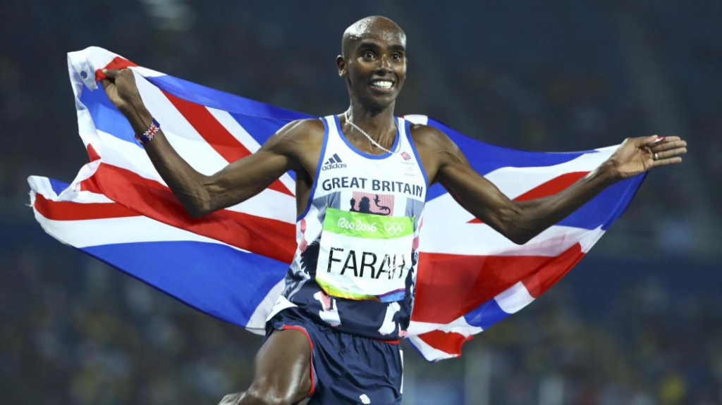 mo Farah, respect, promote, team gb, 2018, environment, high performance